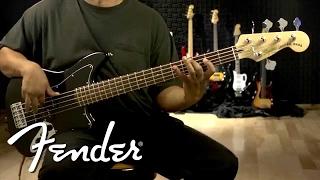 Squier Vintage Modified Jaguar® Bass V Special Demo | Fender