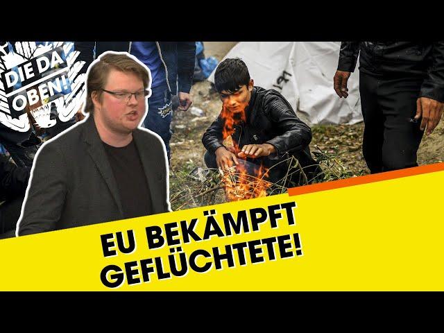 Linke-Politiker: EU ist offen gewalttätig!