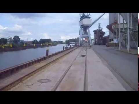 Führerstandsmitfahrt von Oldenburg HBf in den Osthafen