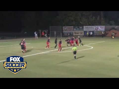 This Campbell University Soccer Player's Goal Will Make His Coaches Proud | FOX SOCCER