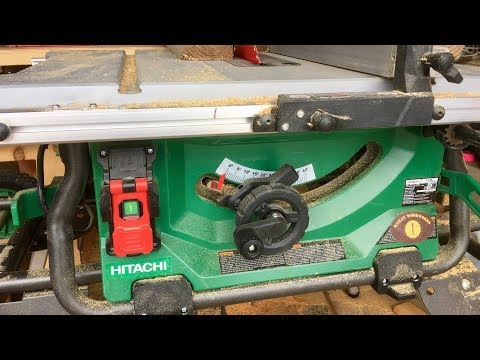 Hitachi C10RJ Table Saw Features and Review - The Hitachi Jobsite Table Saw Ultimate Review