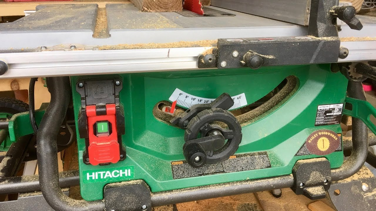Hitachi c10rj table saw features and review the hitachi jobsite hitachi c10rj table saw features and review the hitachi jobsite table saw ultimate review greentooth Image collections