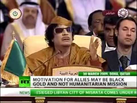 Gaddafi's Gold Dinar Currency Prompted NATO Invasion of Libya