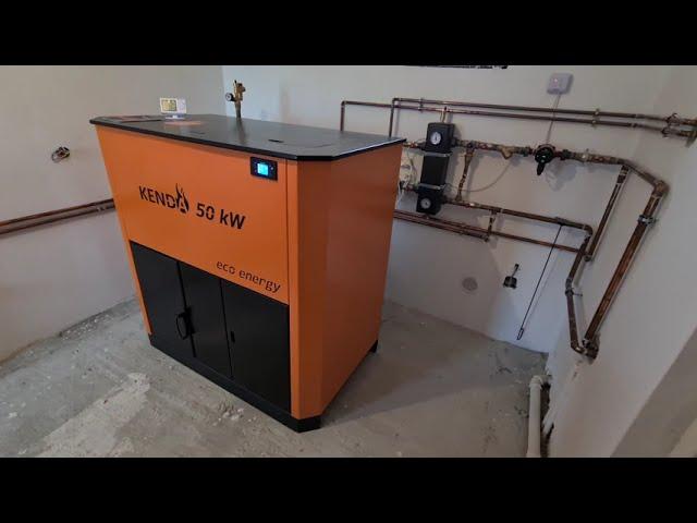 Centrale pe peleti Kenda EcoEnergy 50 kw - Cea mai buna centrala pe peleti - Autonomie mare