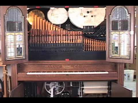 Seeburg Style H Orchestrion plays Maple Leaf Rag  YouTube