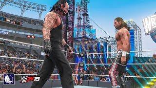 WWE 2K19 Epic Gameplay - Shawn Michaels vs Undertaker