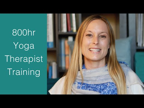 Yoga Therapist Training