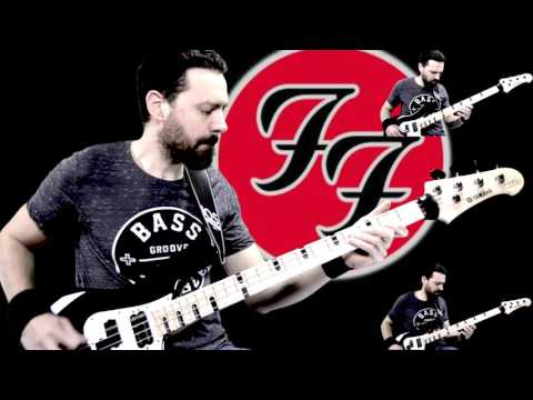 Everlong - Foo Fighters - all bass ( + drum & Voice)