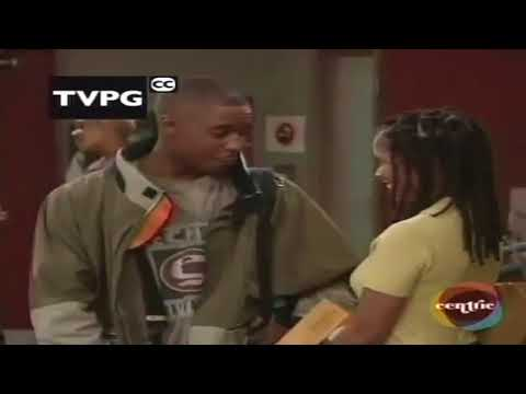 90S ROMANTIC MOMENT FROM THE STEVE HARVEY SHOW MERLIN SANTA WITH THE SMOOTH LINES""