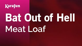 Karaoke Bat Out Of Hell - Meat Loaf *