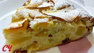 Пирог с Яблоками по-Быстрому. Готовится на Раз-Два !