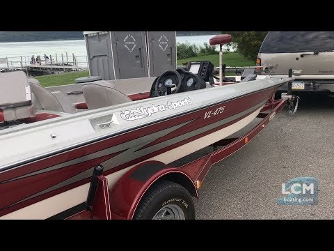 Used Hydrosports VL 475 SPEED Bass Fishing Boat - For Sale