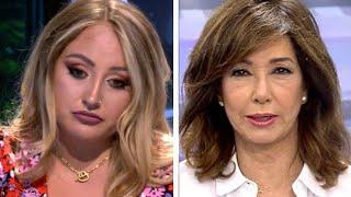 La inesperada despedida de Rocío Flores de Ana Rosa Quintana por Rocío Flores y Fidel Albiac