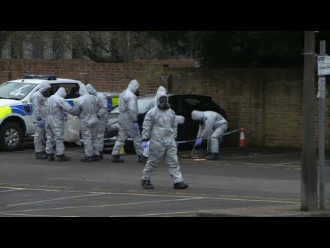 Polícia britânica confirma envenenamento com substância do caso Skripal