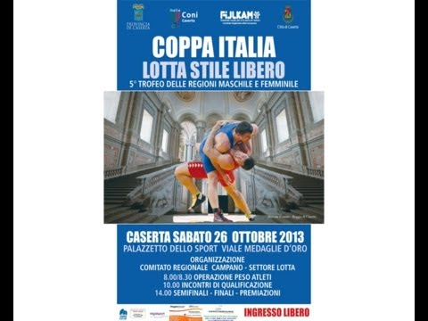 V TROFEO DELLE REGIONI - 2° Fase Coppa Italia Lotta Stile Libero e Femminile