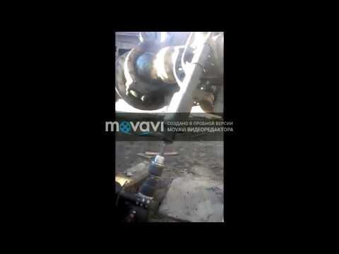 гайкаверт + дрель закручивание рессорных стремянок на камазе