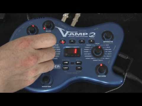 Behringer V-Amp 2 Review / Demo
