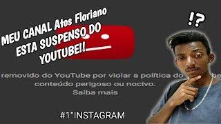 Baixar MEU CANAL Atos Floriano FOI SUSPENSO DO YOUTUBE/Atos instagram