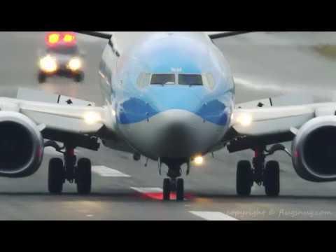 Thomson emergency/overweight landing BHX