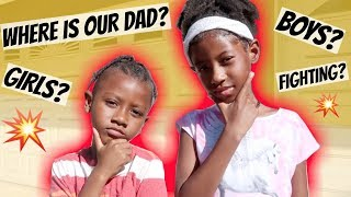 WHERE IS THE KIDS DAD AT❓Q&A WITH KA'ELA & KHE-SANH 🤔| LACY'S FILES