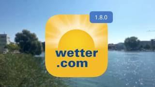 wetter.com Apps - Update 1.8.0 für iOS: iMessage App Wetter Postkarte