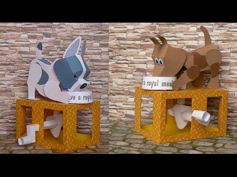Papercraft Dog´s Dinner, paper model