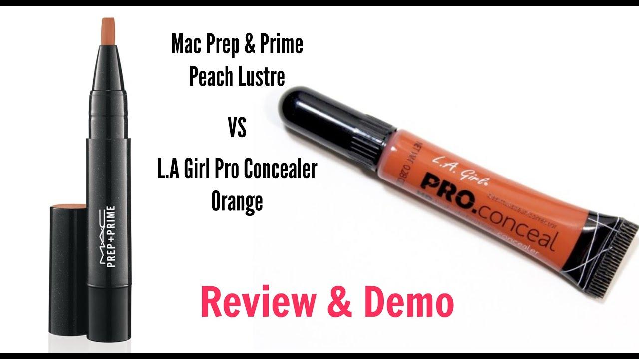 concealer orange corrector