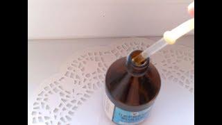 полоскание горла перекисью водорода и гидроперитом снимет воспаление миндалин и десен