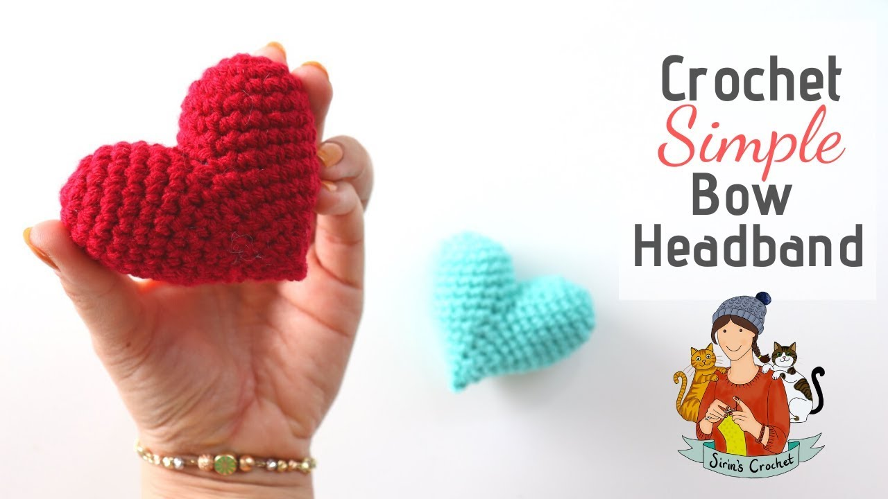 Super Quick And Easy Crochet Heart Amigurumi Pattern - Knit And ... | 720x1280