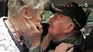 Les retrouvailles des amoureux de 1944 - C à Vous - 11/06/2019
