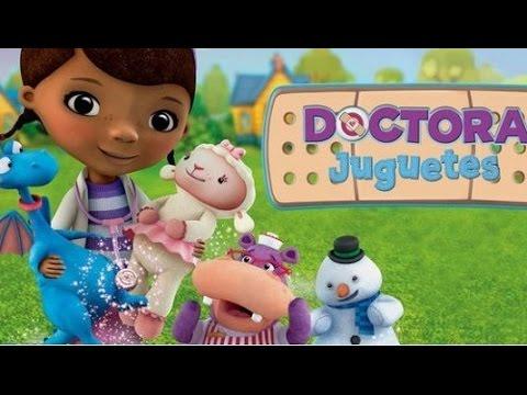 Doctora Jugetes Juegos De Disney Junior En Español Latino Clinica Para Muñecos Y Peluches Youtube