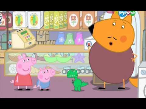Мультфильм Свинка Пеппа и магазин игрушек. Новые мультики для .
