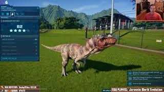 Jurassic Slug Evolution #3: Island Two! [livestream archive]