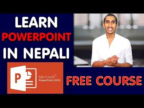 Ms PowerPoint Complete Tutorial In Nepali