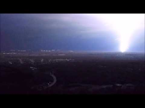 Memphis Lightning Storm 3/13/2016 from 600 Foot High Drone