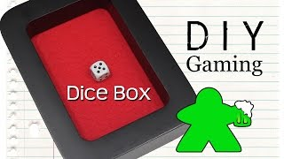 Diy Gaming - How To Make A Dice Box