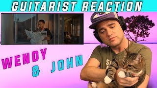 GUITARIST REACTION to John Legend X Wendy - Written In The Stars / Red Velvet/ Ellis Reacts #852