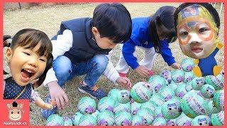 L.O.L 서프라이즈 돌 에그 장난감 콩순이 뽀로로 친구들 함께 보물찾기 놀이 ♡ 인형 뽑기 놀이 surprise doll kids toys | 말이야와아이들 MariAndKids