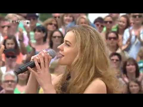 Emmelie de Forest - Only Teardrops (Live) at ZDF-Fernsehgarten 2013