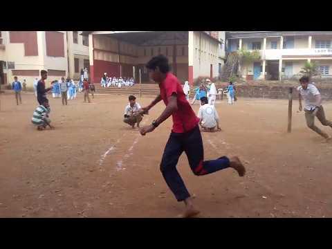 3rd day sports in HDA high school, Kalusta | Kho-kho (Senior group) | Final (1st round) | 30-12-2017