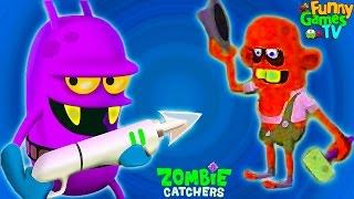 Zombie Catchers #4 Игровой   про зомби апокалипсис Охотники или Ловцы Зомби видео для