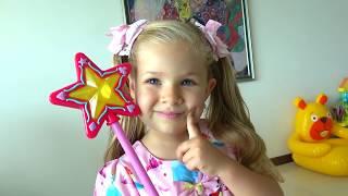 Diana como Cenicienta Video para niños en español
