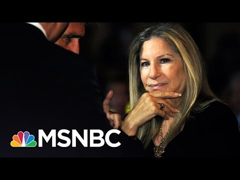 Barbra Streisand Sounds Off On Donald Trump | Hardball | MSNBC