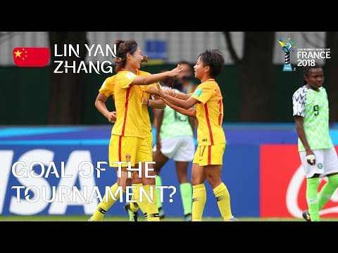 Lin Yan ZHANG - GOAL OF THE TOURNAMENT Nominee