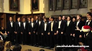 """The Pitchforks of Duke University - """"The Christmas Song"""""""