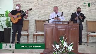 Culto Matutino (22/08/2021) - Igreja Presbiteriana do Calhau