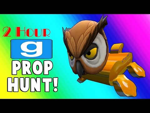 Gmod Prop Hunt 2 Hours Best Funny Moments Episode 3 Full | VanossGaming Funny time