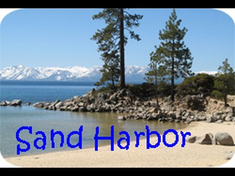 Sand Harbor Beach - Lake Tahoe- Home of Lake Tahoe Shakespeare Festival