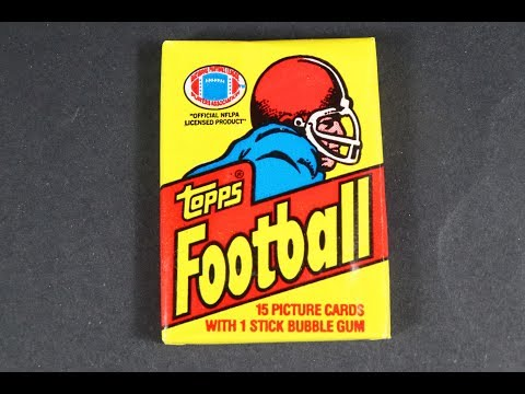 1981 Topps Wax Pack Football Cards Pack Opening ! Tons Of HOF Cards   Looking For Joe Montana