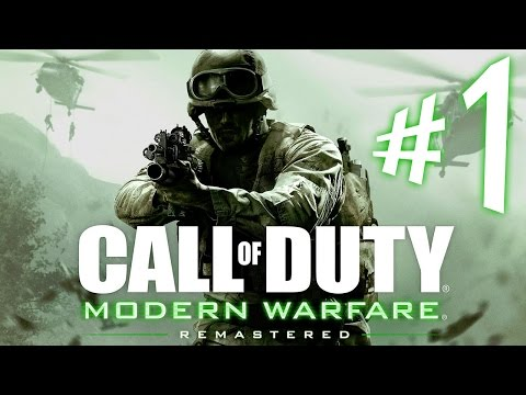 Call of Duty Modern Warfare Remastered - Parte 1: SOAP e Jackson [ Playstation 4 - Playthrough ]